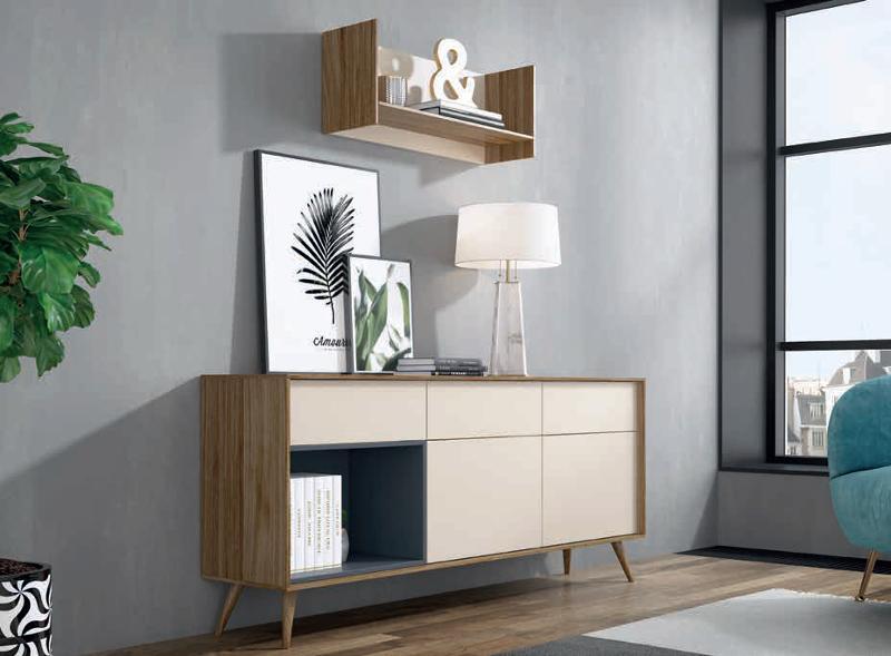 Mobiliario De Diseño Estilo Nordico - null