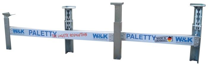 Pallet stacking system -