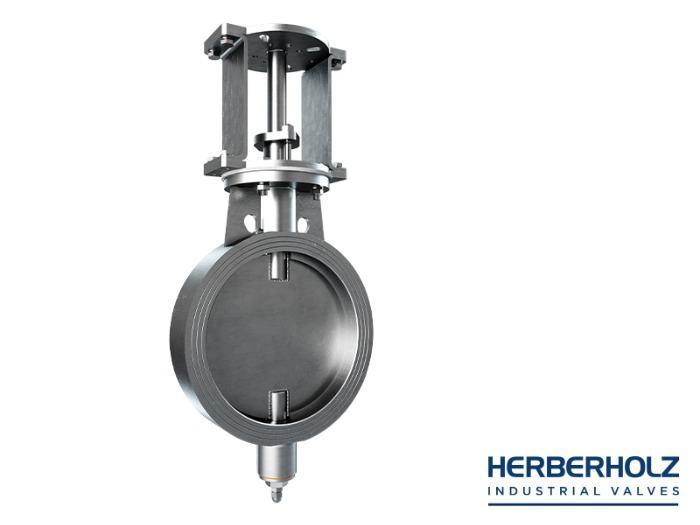 HRD / HRA welded body - Butterfly valve dumper