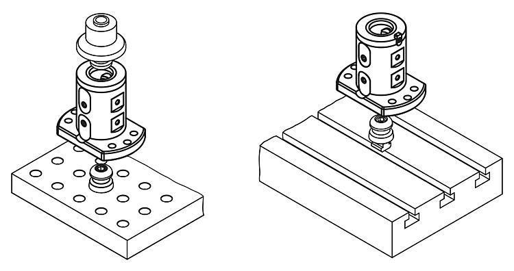 Module de base double 5 axes UNI lock à pas de 80 mm - UNI lock Pas de 80 mm