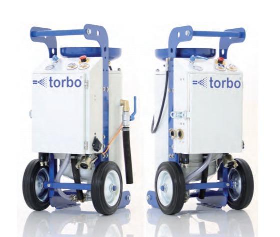 Sistema TORBO wet abrasive - TORBO SOFTLINE XS / S