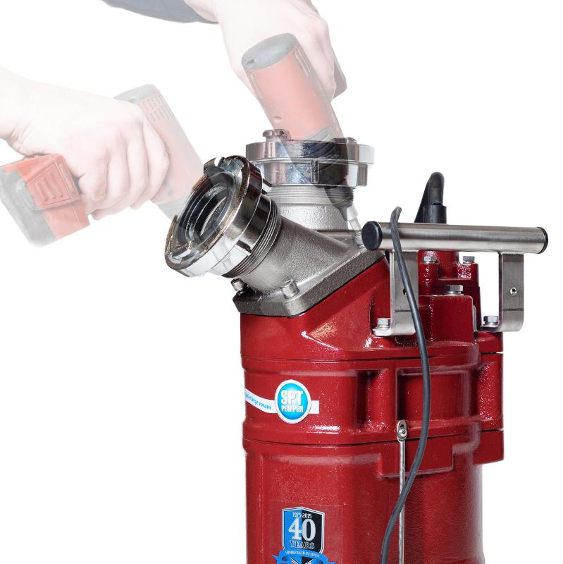 Submersible drainage pumps - SPTE ® 215 to SPTE ® 455