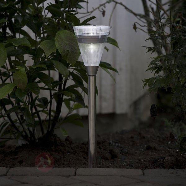 lampe solaire ASSISI en inox à LED - Toutes les lampes solaires