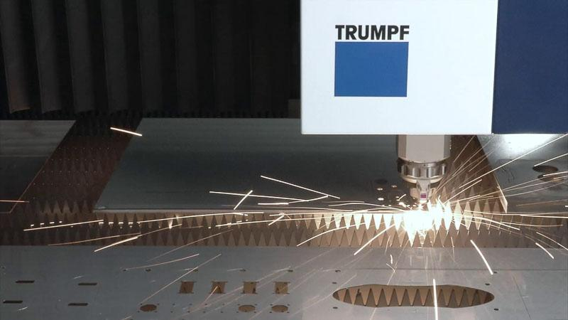 Laser cutting -