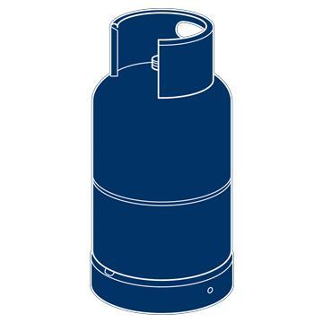 GAS- UND LPG-CONTAINER -