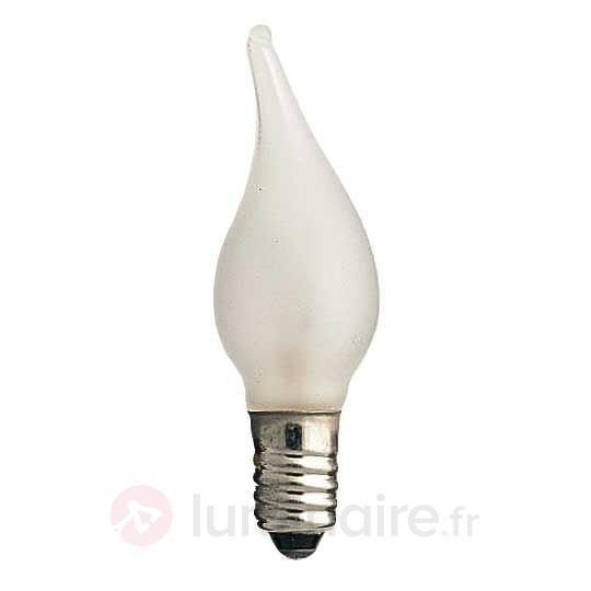 Pack de 3 lampes effet vent E10 3W 34V - Ampoules à l'unité