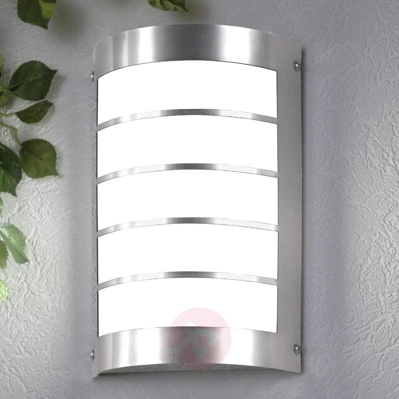 Marco1 Modern Exterior Wall Lamp excl. Sensor - stainless-steel-outdoor-wall-lights