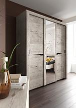 """3 Doors Wardrobe """"Sorento"""" With Sliding Doors - Bedroom furniture"""