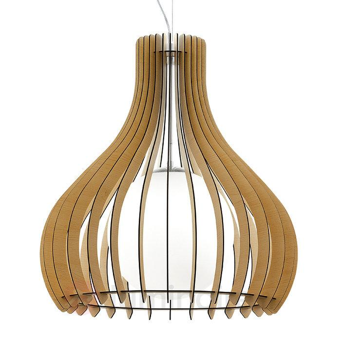 Tindori - suspension au design original - Suspensions en bois