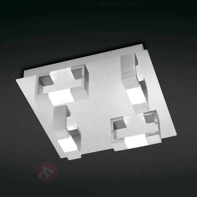 Plafonnier LED rectangulaire Kemos - Plafonniers LED