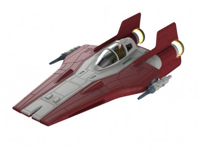 Modelisme Vaisseau Spatial Star Wars - STAR WARS RESISTANCE A-WING FIGHTER build and play
