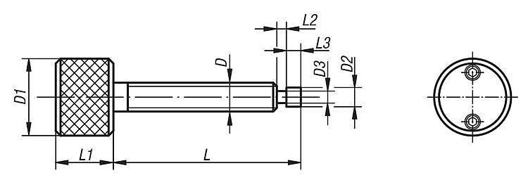 Vis dynamométrique à gorge - Vis dynamométriques et inserts taraudés