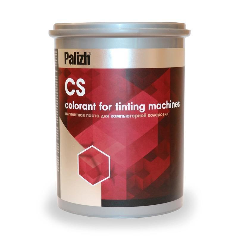 Пигментные пасты CS-980 - Колоранты для автоматической колеровки водных и органических ЛКМ