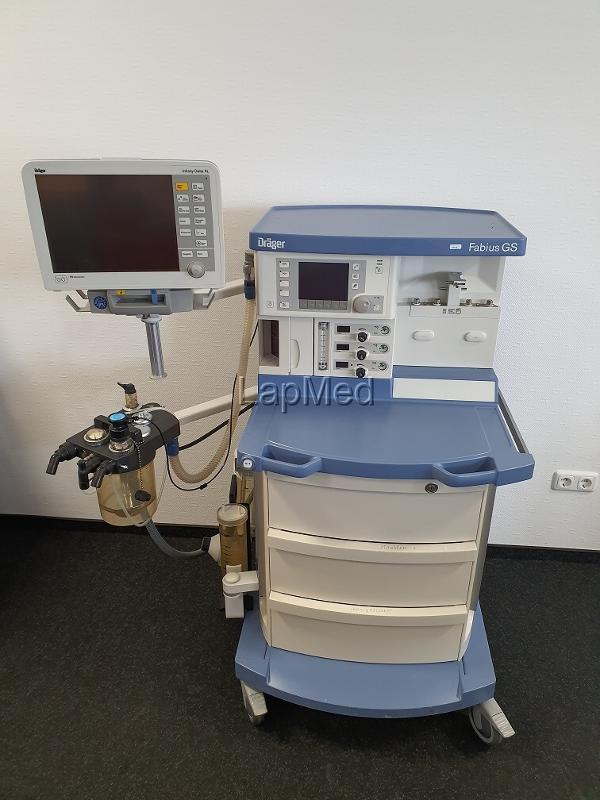 Narkosegerät Dräger Fabius GS - OP-Ausstattung gebraucht bestellen