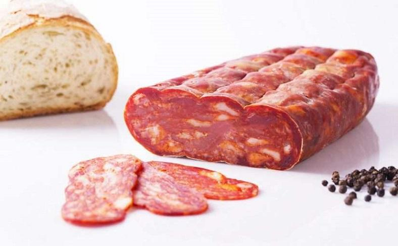Selection Of Authentic Salami Of Calabria