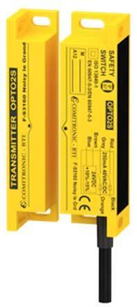 Contrôle la position des portes/carters miniatures de machines dangereuses - OPTO2S