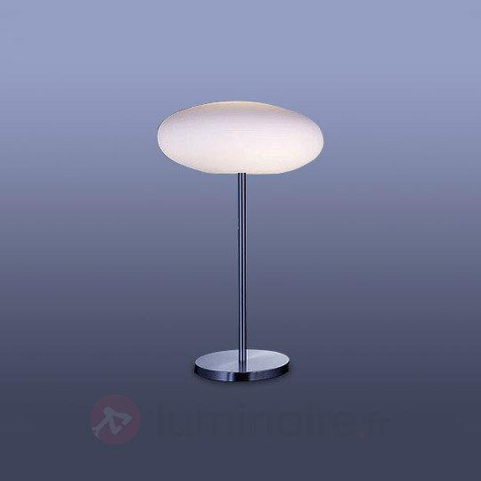 Lampe à poser LENA avec abat-jour en verre - Toutes les lampes à poser