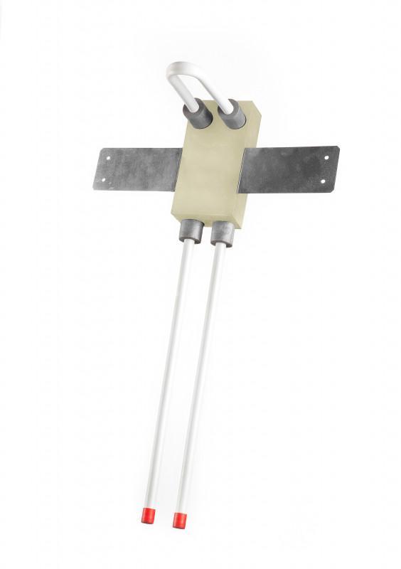 Heizkörperwand-Anschlussblock 25-HK-T - SANHA®-Box für Heizkörperwand-Anschlussblock