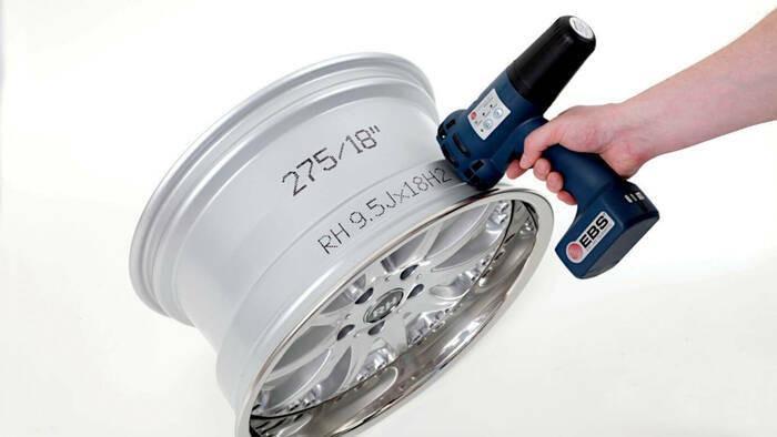 Tragbares Markierungsgerät - HANDJET® EBS-250 -