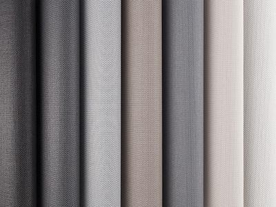 Intelligent fabrics for solar protection