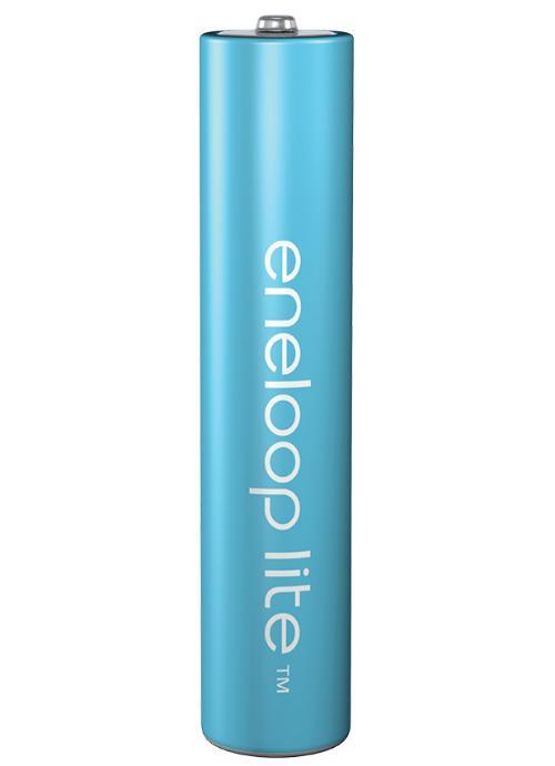 Batterie ministilo ricaricabili Eneloop Lite