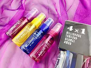 Mini Bodysplash 30ml Anil - contains moisturizing ingredients and antiperspirant
