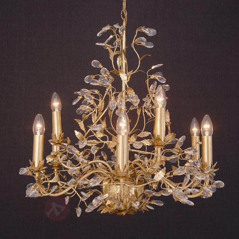Précieux lustre Buono à 9 lampes doré - Tous les lustres