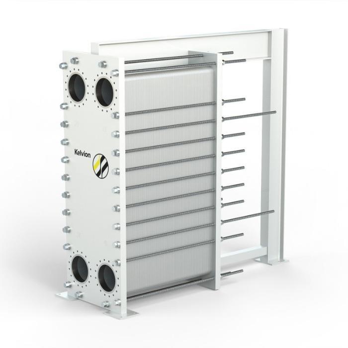 垫片板式热交换器 - 高效的基准