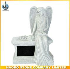 Haobo G603 Bench Monuments With Angel Carvings