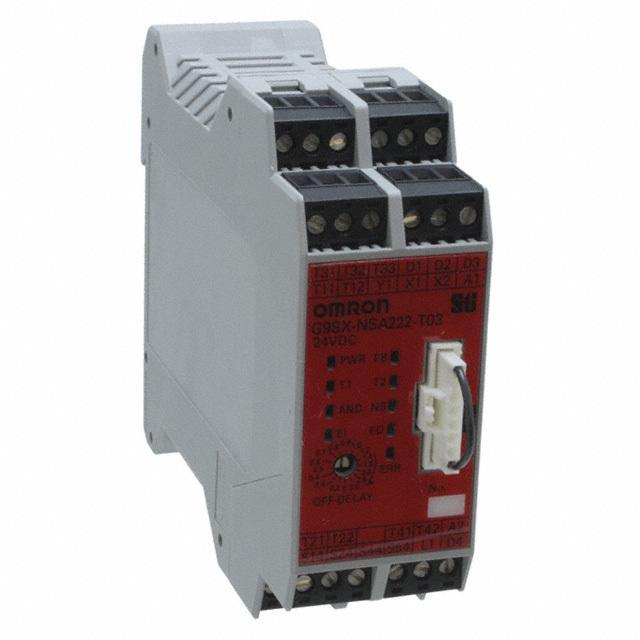 CONTROL SAFETY INTERLOCK 24V - Omron Automation and Safety G9SX-NSA222-T03-RT DC24