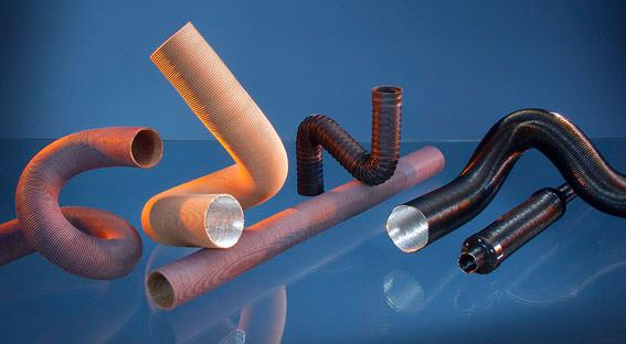 Flexible Tubes for Hot & Cold Air Distribution - Heat & Energy Components