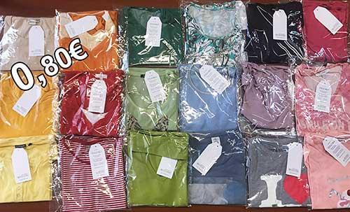 Γυναικεία ρούχα ανά τεμάχιο σε ατομική συσκευασία! - Πώληση ανά τεμάχιο σε ατομική συσκευασία