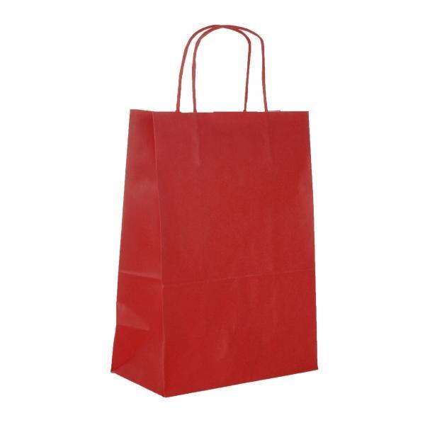 twisted handle bag - 6 colour flekso printing