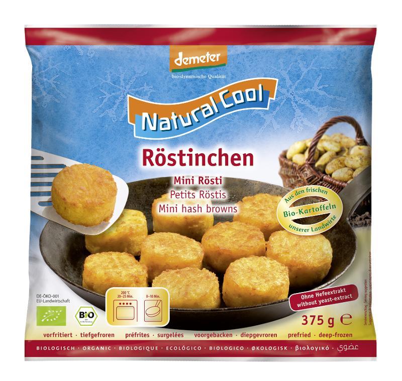 RÖSTIS - Spécialités à base de pommes de terre - Biologiques, préfrites et surgelées
