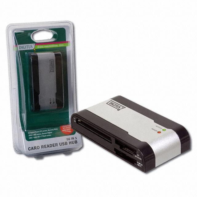 CARD READER 56IN1/USB 2.0 HUB - Assmann WSW Components DA-70312