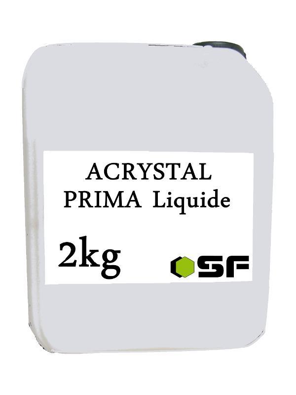ACRYSTAL PRIMA LIQUIDE EN 2KG - Resines acrystal Acrystal poudres et liquides