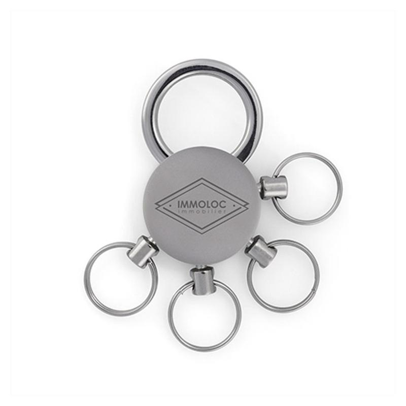 Porte-clés multi ronds - Porte-clés métal
