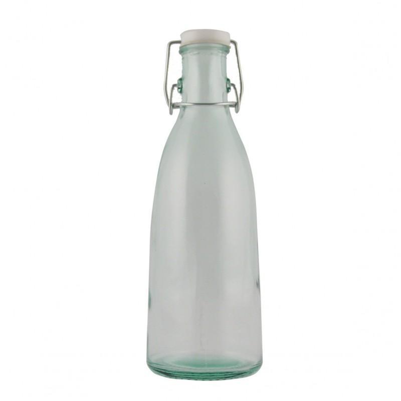 6 bouteilles de lait 950 cl avec bouchon limonade - Flacons et Carafes