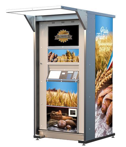 Distributeur Automatique de Baguettes & Viennoiseries - DISTRI1420® est partenaire Diamento pour la région Sud-Est de la France