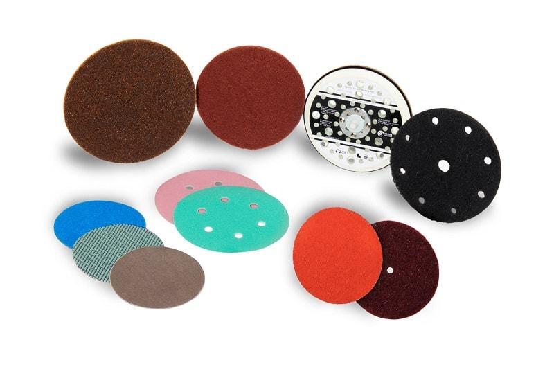 Abrasive Discs with Velcro -