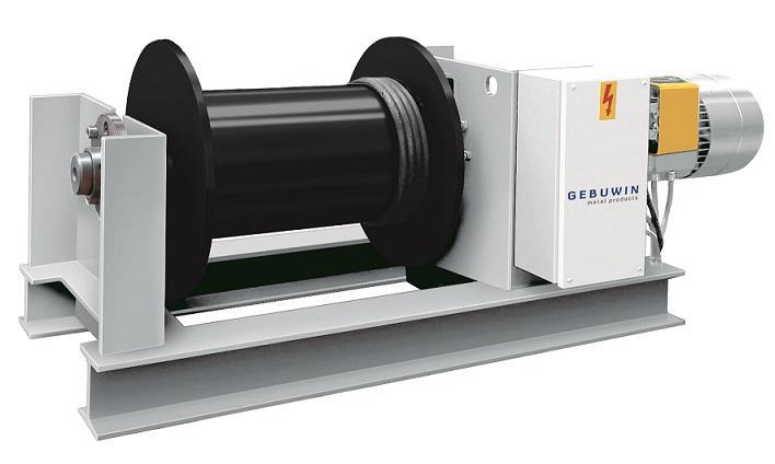 Electric worm gear winch - EP2000-20000 kg 400V-50Hz