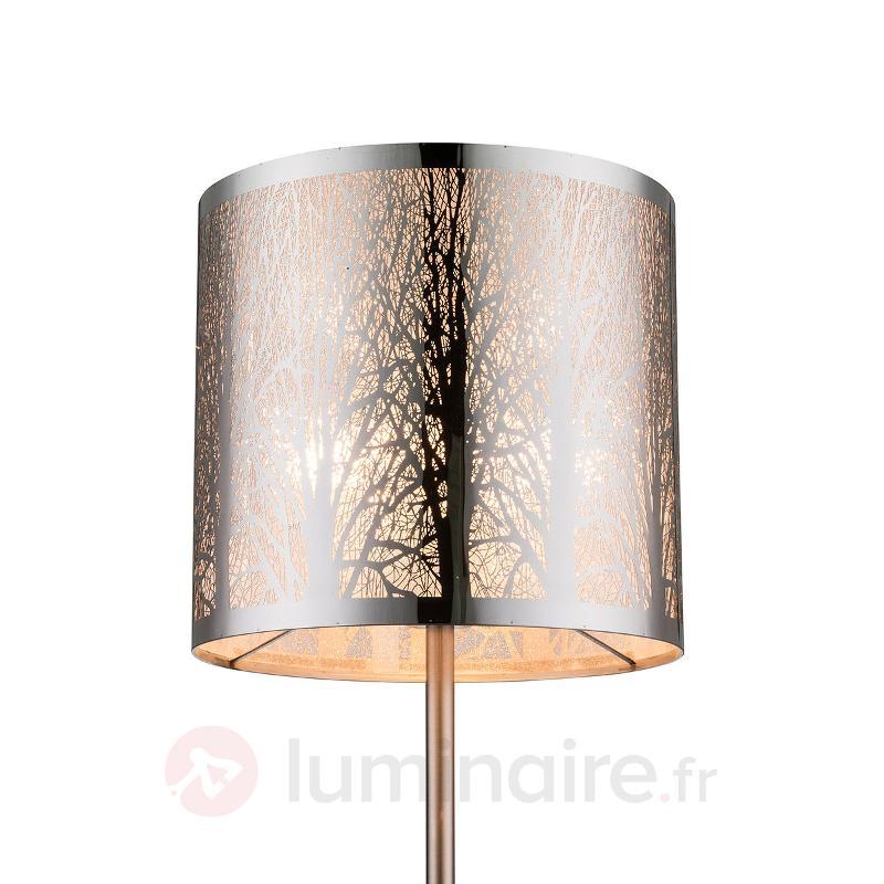 Lampadaire Cianna, abat-jour à motif - Tous les lampadaires