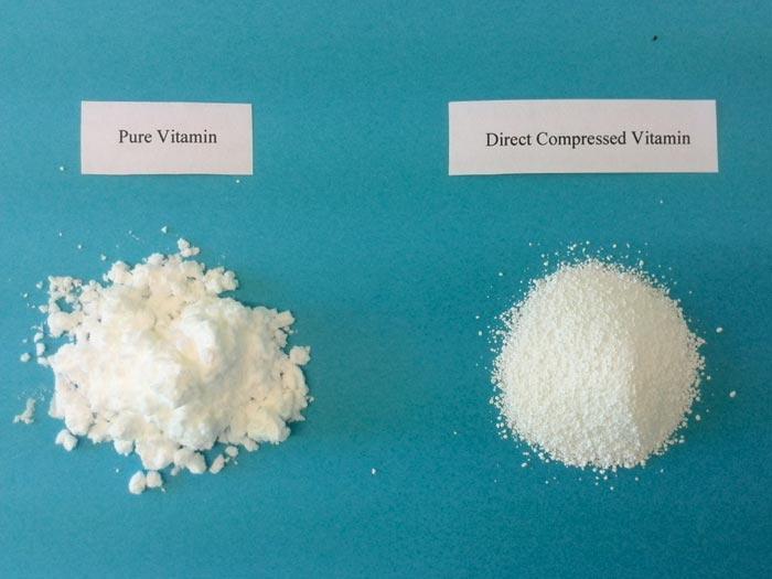 Vitamines enrobées pour la compression directe - Caractère de vitamine à compression directe