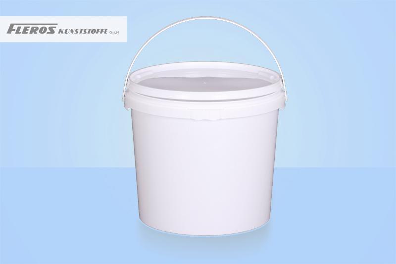 Round buckets - FK-R 8.500 bucket, round, PP