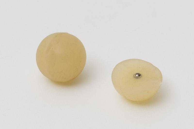 Magnetic detectable balls - Balls with a small detectable metal ball in the inside.