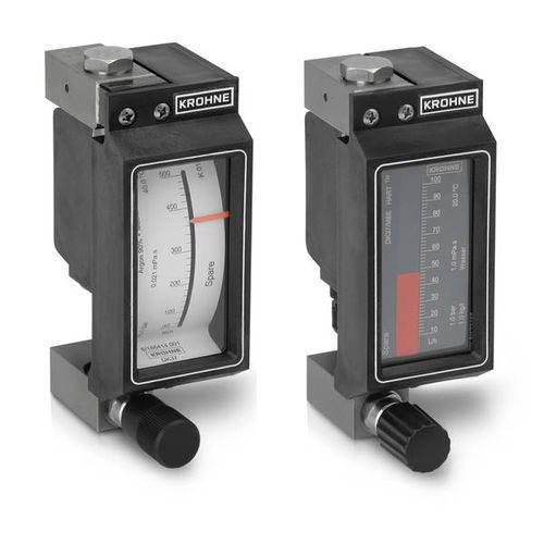 DK 37 - Caudalímetro para gas / de área variable / con tubo de metal / en línea