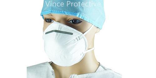 Máscara de polvo con válvula -