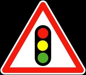 Panneau A17 Signalisation De Feux Tricolores - Balisage De Chantier Et Panneaux Routiers
