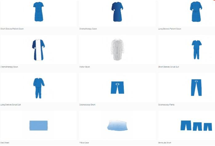 Disposable Non Sterile Clothing -