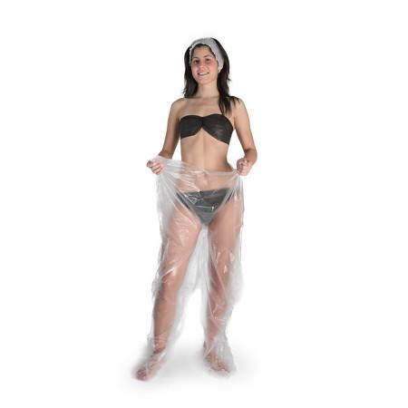 Pantalone in polietilene alta densità per pressoterapia e fanghi - null